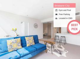 Brisbane City+ Free Parking | Close to Everywhere!, Брисбен