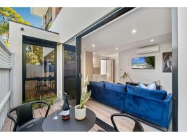 Quiet modern apartment two minutes from the beach, Melbourne