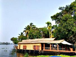 Ours boathouse, Alleppey