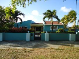 The Merry Milestone, Oceanfront villa at Spanish Lagoon, Pos Chiquito