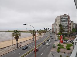 Apartamento frente al mar. Playa Pocitos, La mejor vista., Монтевидео