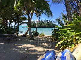 Muri Beachside Villa with pool, Rarotonga