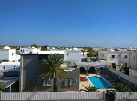 Villa avec piscine proche de la mer sur Djerba (Tunisie), 阿格希尔