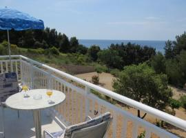 Apartment in Orebic with sea view, balcony, air conditioning, Wi-Fi (4202-2), 奥瑞比克