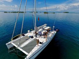 Catamaran Angelique II, Belize City