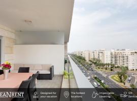 Beautiful Apts w/ Large Balcony & Parking by Sea N' Rent, Tel Awiw