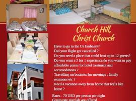 BlazingFireGuesthouse, 基督教堂市