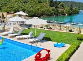 Syvota Villa Sleeps 9 Pool Air Con WiFi, 塞沃塔