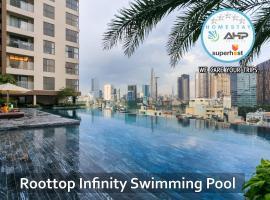 Henry Millennium Aprt 5-STAR Luxury 2BR #Infinity Pool 25th, Ho Chi Minh