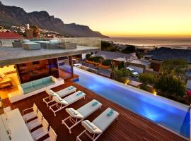 Camps Bay Speciality Sleeps 10 Pool Air Con WiFi, Le Cap