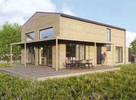 Gud Jard Chalet Nr. 18 - Wohngesundes Design-Ferienhaus