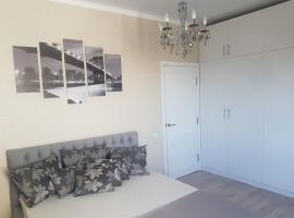 Apartment in Almaty, Zharokov st.137/1, 阿拉木图