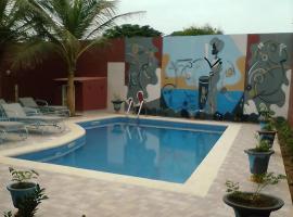 Villa Keur Mbeugué, havre de paix au coeur du village de Somone, Somone
