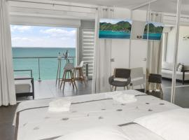 Honeymoon apartments - Bleu Marine, Grand Case