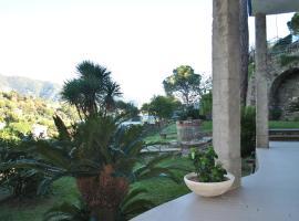 Appartamento Santa Margherita - Grande Giardino con Grill e Vista Mare, Rapallo