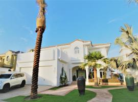 Signature Luxury Holidays - Premium Five Bedroom Villa, Sunset Point, on end of Frond, Dubai
