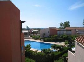 One-Bedroom Apartment with garden and sea view 110, Cap d'Agde