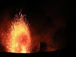 Volcano with adventure view, Port Vila