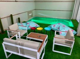 Appartement Majorelle avec piscine privée, Marrakech