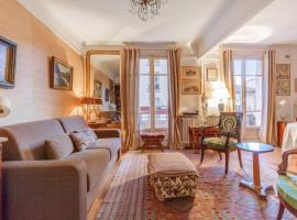 Parisian flat with balcony near Latin Quarter 6p, Париж