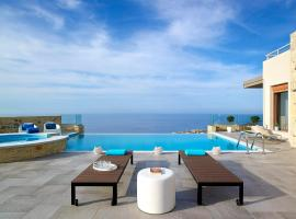 Lygaria Villa Sleeps 9 Pool Air Con WiFi, Agia Pelagia