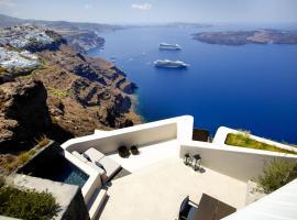 Firostefani Villa Sleeps 2 Pool Air Con WiFi, Firostefani