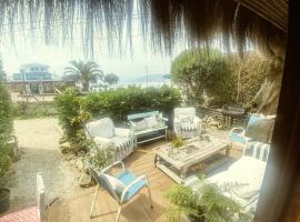 Cabaña Frente al Mar en MAINTENCILLO, Maitencillo
