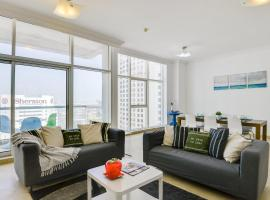 ★ Bright Apartment | Minutes from the Beach, 迪拜
