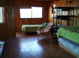 palafito-cabaña, El Quisco