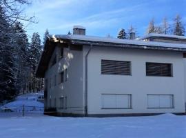 Waldhaus Apartment Sleeps 8 WiFi, Flims