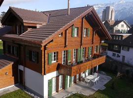 Interlaken Apartment Sleeps 7 WiFi, Interlaken