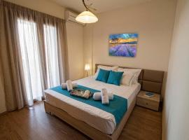 Analipsi Villa Sleeps 7 Pool Air Con WiFi T647461, Makriyialós
