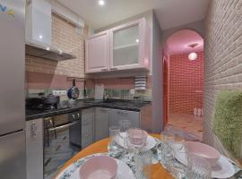 Pink cloud loft apartment, Petersburg