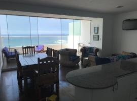 Linda vista en playa Señoritas, Punta Hermosa