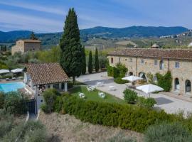 Villa Colleluna, La Serra