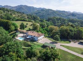 Villa Orlandi, Ronta