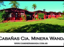 Cabañas cia minera wanda, Wanda