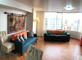 Lovely Deluxe Great Apt+Gym in Miraflores, Lima