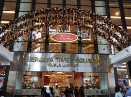The Palace-Ritz apartment KL@ Time Suqare Bintage, Kuala Lumpur