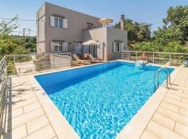 Archaia Eleutherna Villa Sleeps 6 Air Con WiFi, Prinés