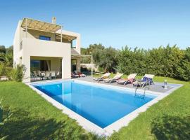 Karavomylos Villa Sleeps 6 Air Con WiFi, Karavomylos