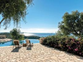 Syvota Villa Sleeps 7 Air Con WiFi, Syvota