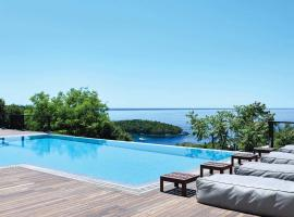 Syvota Villa Sleeps 10 Air Con WiFi, Syvota