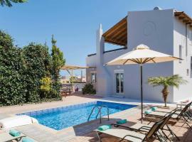 Adelianos Kampos Villa Sleeps 6 Air Con WiFi, Adelianos Kampos