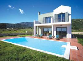 Skala Villa Sleeps 7 Air Con WiFi, Skála Kefalonias