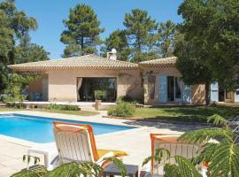 Saint-Paul-en-Foret Villa Sleeps 6 Air Con WiFi, Saint-Paul-en-Forêt