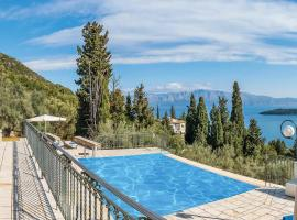Perigiali Villa Sleeps 6 Air Con WiFi, Nydri