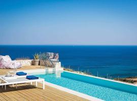Skala Villa Sleeps 2 Air Con WiFi, Skála Kefalonias