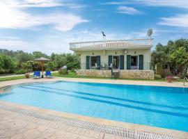 Chalikounas Villa Sleeps 4 Air Con WiFi, Halikounas
