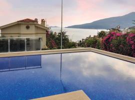 Kalkan Villa Sleeps 6 Air Con WiFi, Kalkan